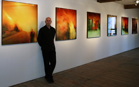 Mark Willcox with Kings X Fire Artworks